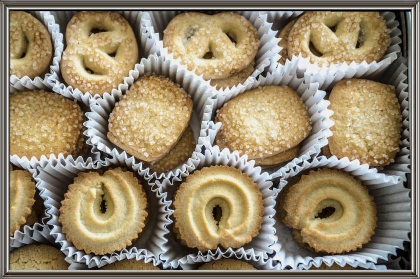 una scatola di biscotti...